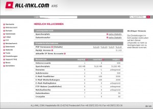All-inkl.com KundenAdministrationsSystem