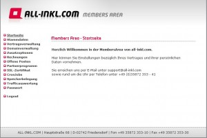 All-inkl.com Members Area